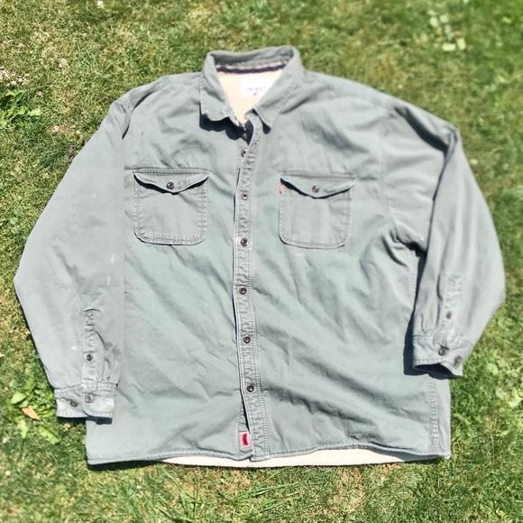 Levis Jacket Workwear Button Down Warm 3XL (R)
